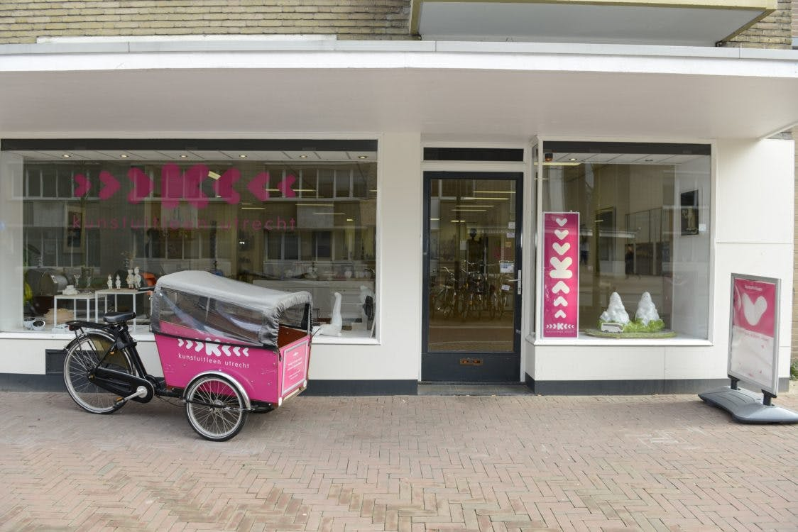 Kunstuitleen Utrecht bestaat 30 jaar!