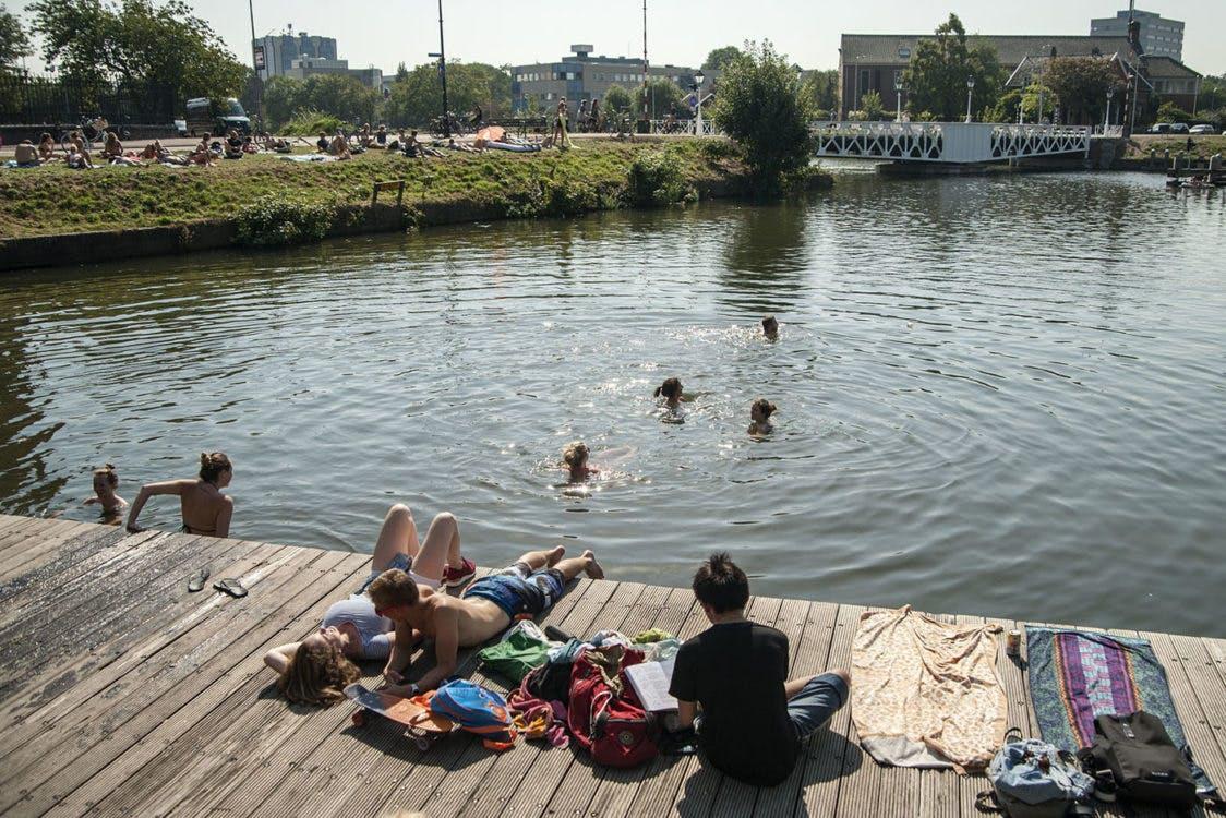 Deze week zomer in Utrecht, het kwik stijgt donderdag tot zo'n 26 graden