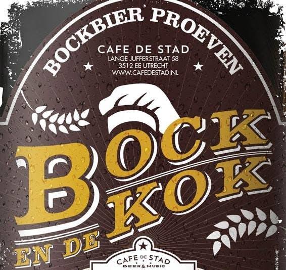 """Win 10x het jubileum-boek van De Bock en de Kok: """"10 jaar bockbier en stevige happen"""""""