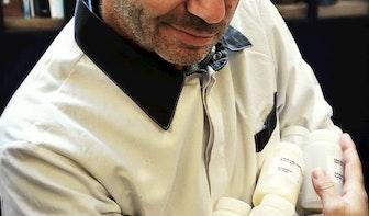 Moedermelkijs bij ijssalon Roberto Gelato
