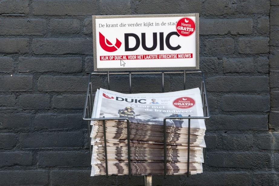 Grote belangstelling voor DUIC krant