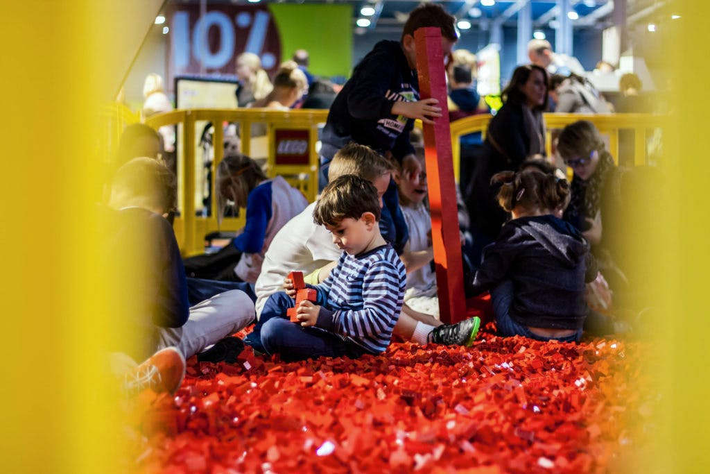 Foto's: Lego World van start in Jaarbeurs