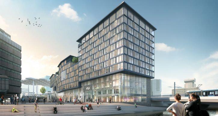 Het toekomstige Noordgebouw
