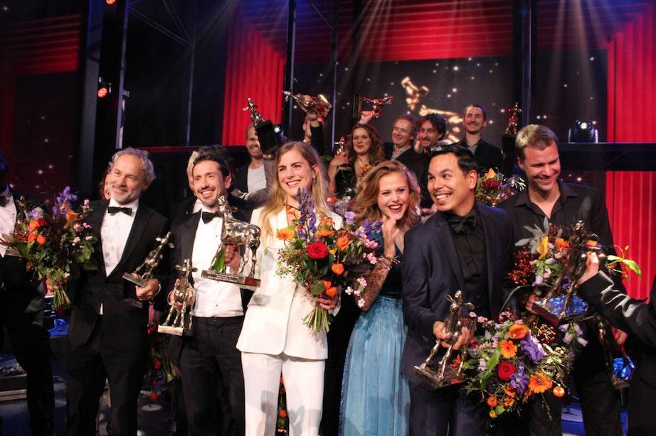 Nederlands Film Festival afgesloten met het Gouden Kalveren Gala