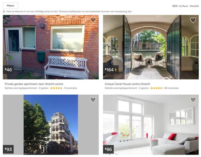 Utrecht stelt strenge voorwaarden aan Airbnb