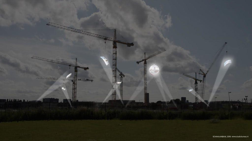Bouwput Leidsche Rijn Centrum wordt vrijdag grote disco