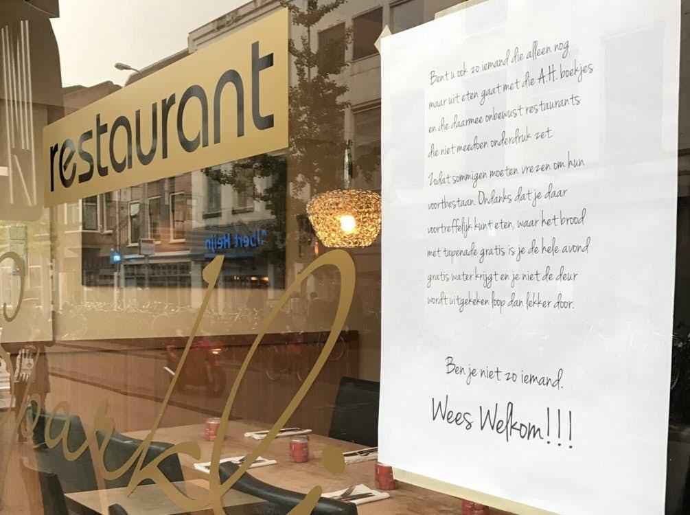 albert heijn restaurant actie utrecht