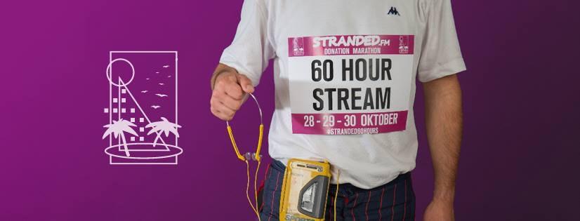 Stranded FM gaat 60 uur non-stop radio maken in Hardebollenstraat