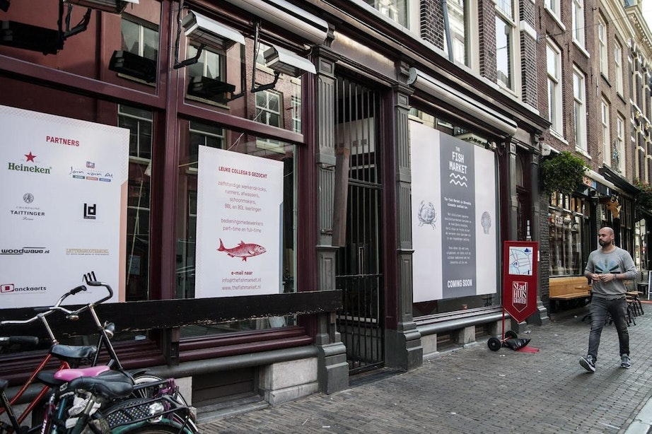 Nieuw visrestaurant in de Schoutenstraat: The Fish Market