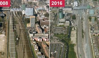 Voor en na: ProRail rondt spoorvernieuwing in Utrecht af