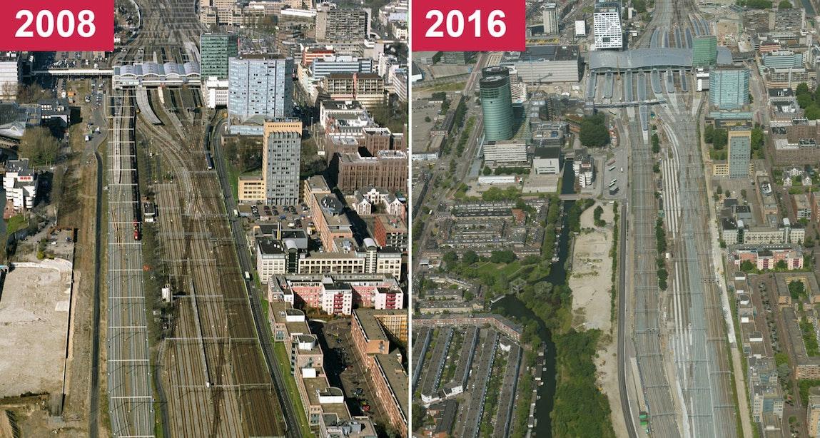 Miljoenenmeevaller bij spoorvernieuwing Utrecht Centraal