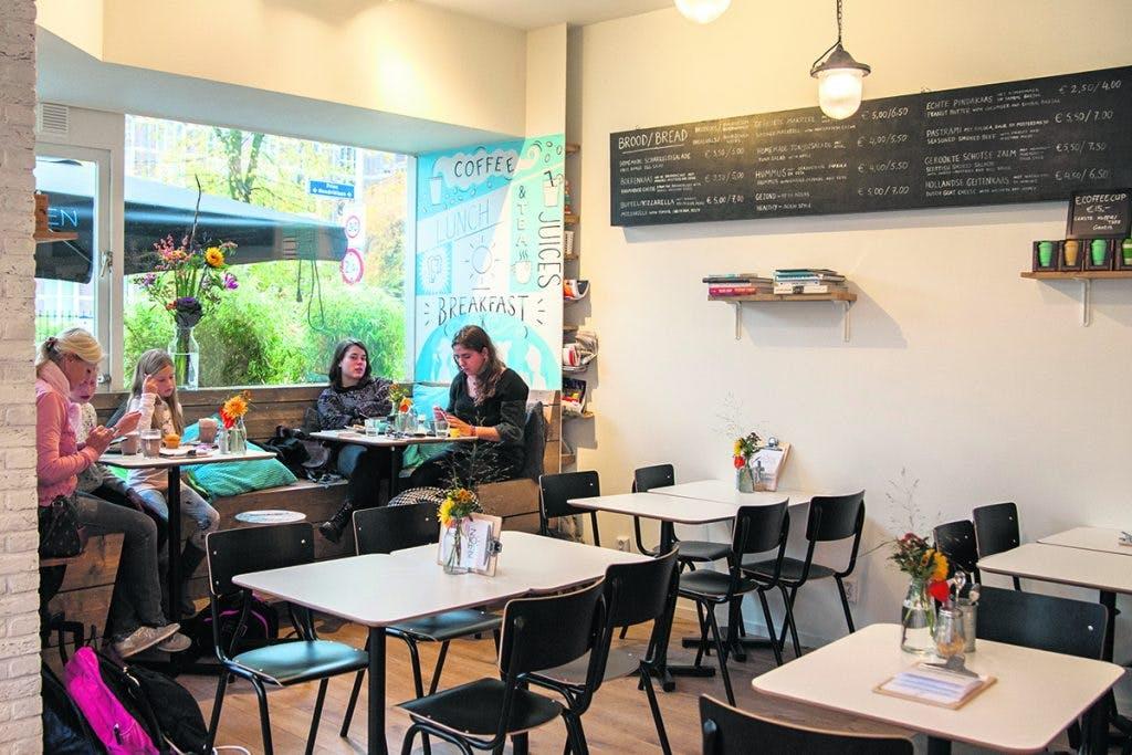 Jette & Jildou drinken koffie bij NOEN: Een prima pitstop