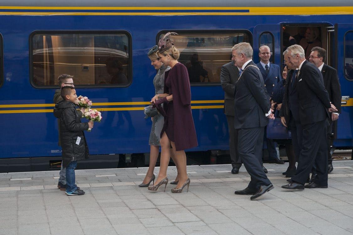 Foto's: Koninginnen op Utrecht Centraal