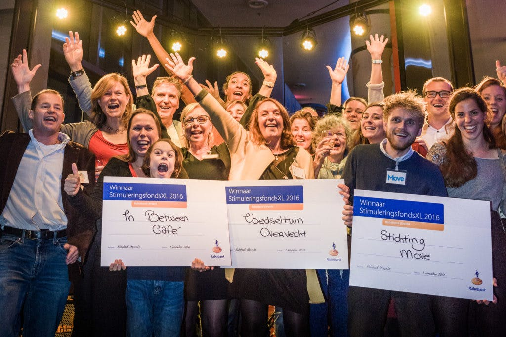 Drie Utrechtse buurtinitiatieven winnen groot geldbedrag bij finale StimuleringsfondsXL