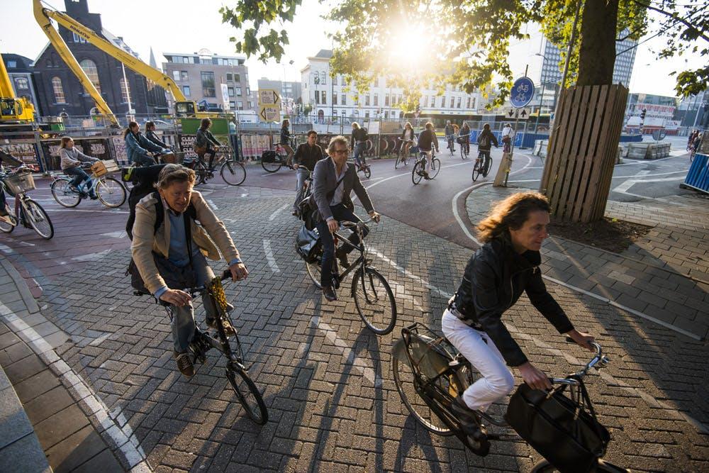 Drie drukste fietspaden van Nederland liggen in Utrecht