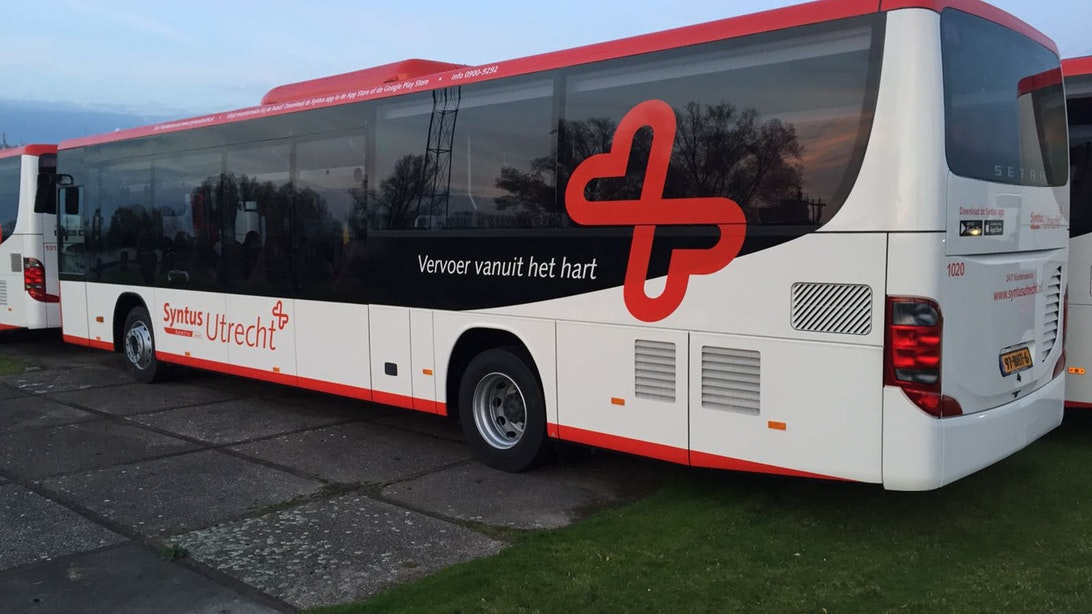 Syntus verzorgt de komende jaren het regiovervoer in Utrecht