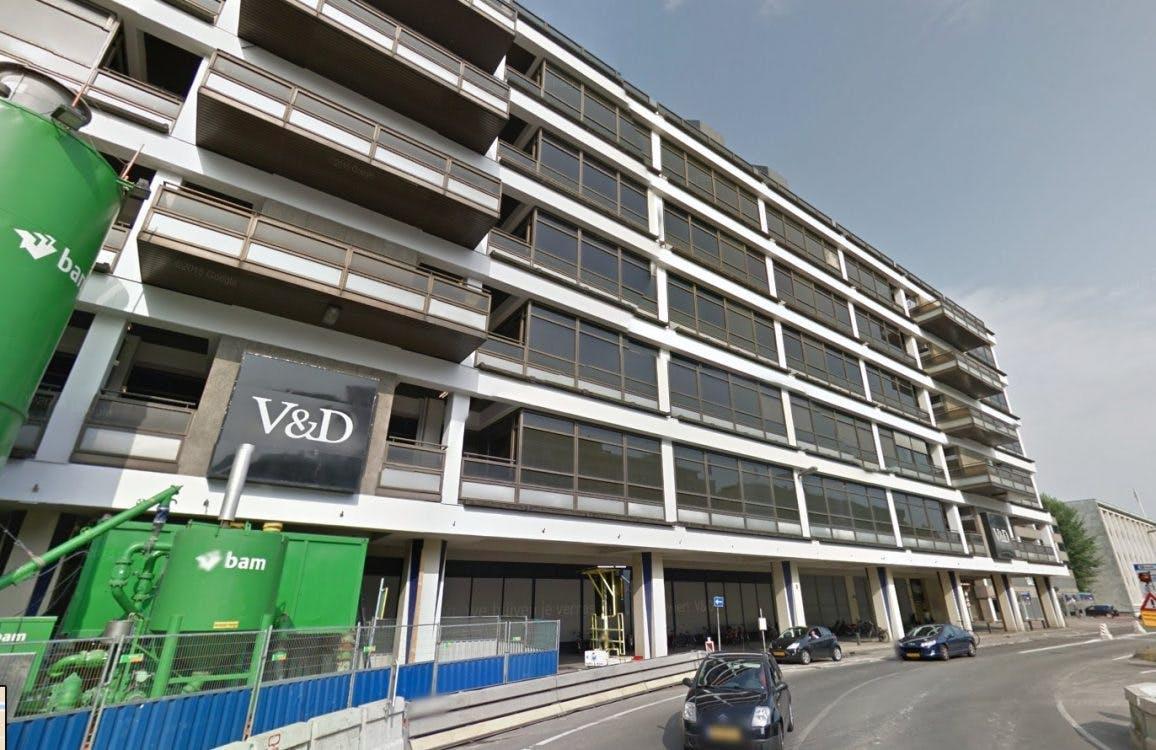 V&D-pand wordt verbouwd tot meerdere winkels en behoudt dakterras