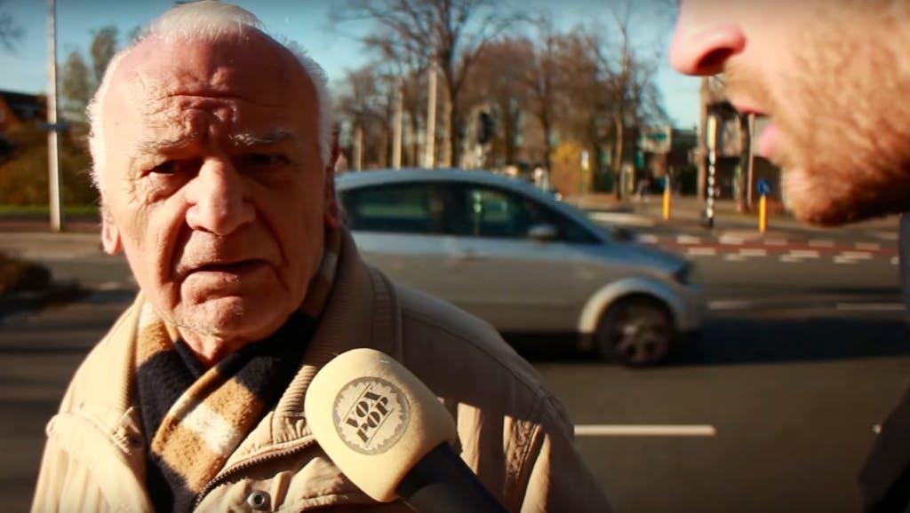 Utrechtse YouTuber Roel Maalderink op zoek naar boze blanke man
