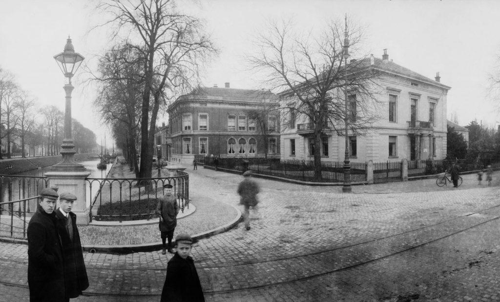 Villa's Van Beuningen en Swane, ca. 1910 (Het Utrechts Archief)