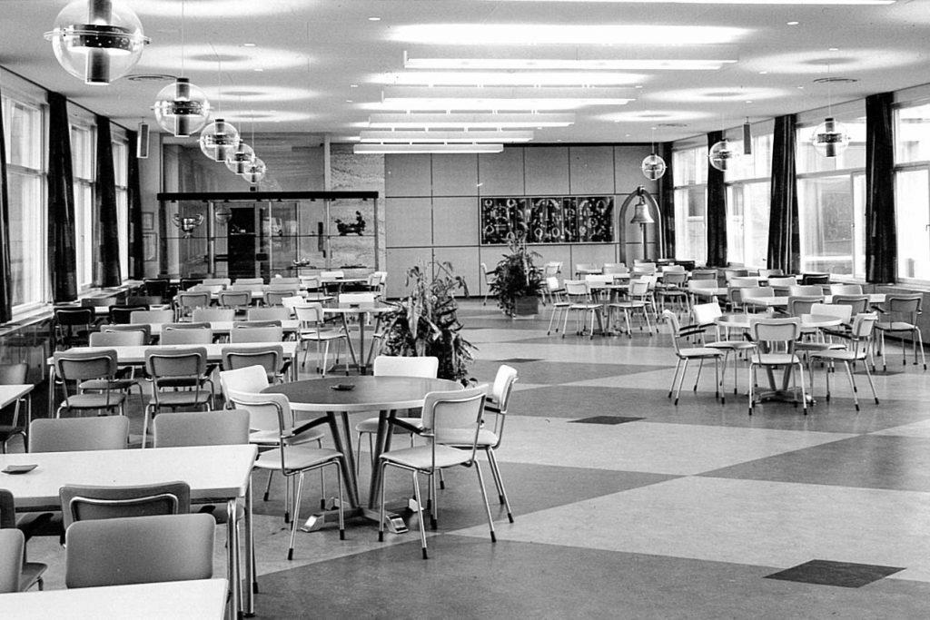 Kantine SHV, ca. 1960 (Op ten Noort-Blijdenstein Architecten)