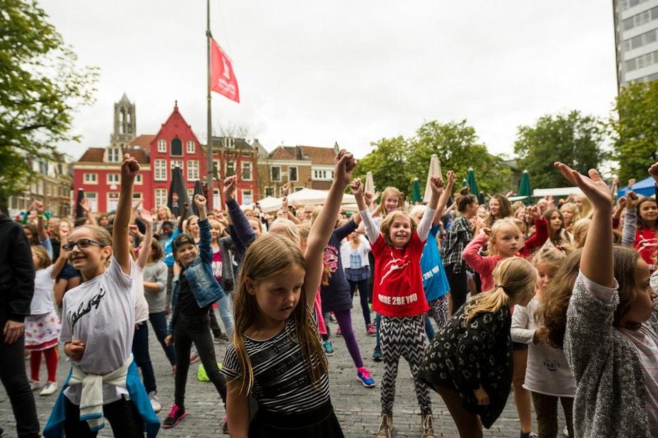 Jong bezoek in Utrecht