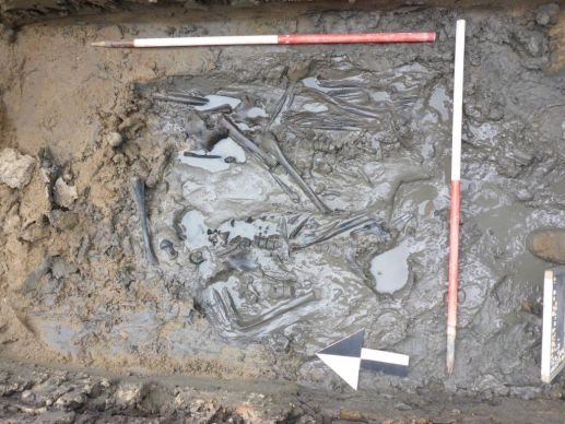 Skeletten uit 19e eeuw gevonden onder Utrecht Centraal