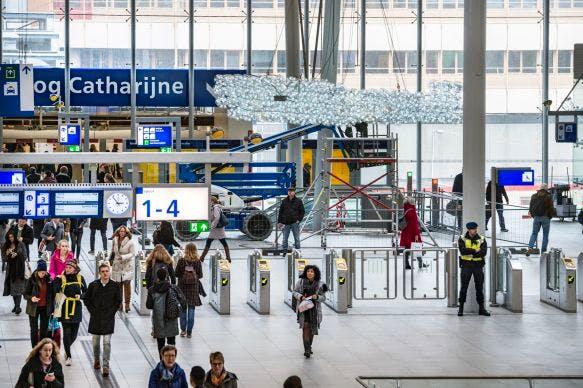 Kunstwolk moet de nieuwe ontmoetingsplaats van Utrecht Centraal worden