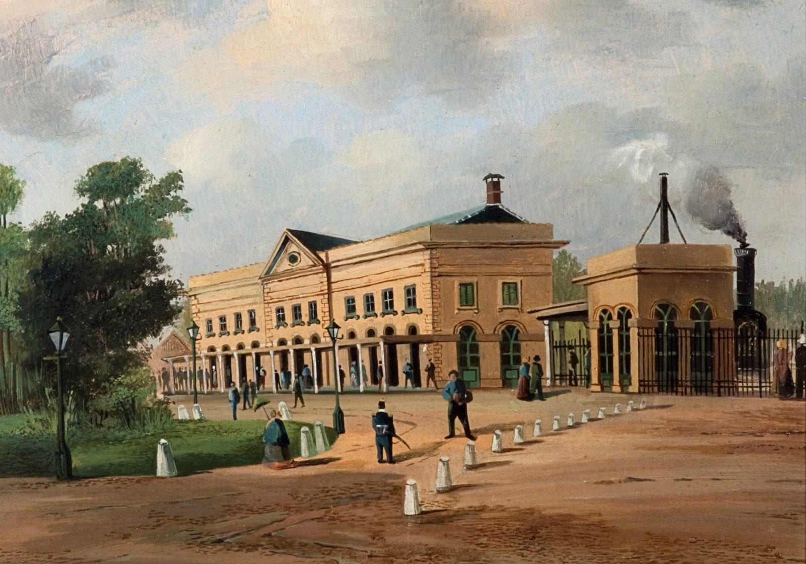 Utrecht Centraal in 1843
