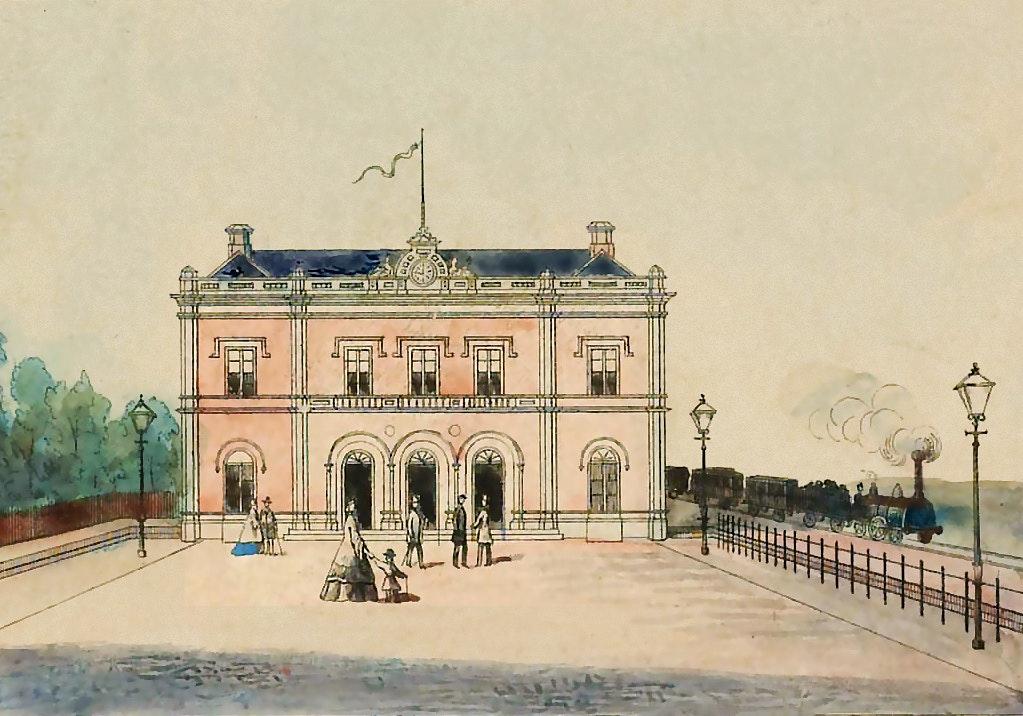 Utrecht Centraal in 1868