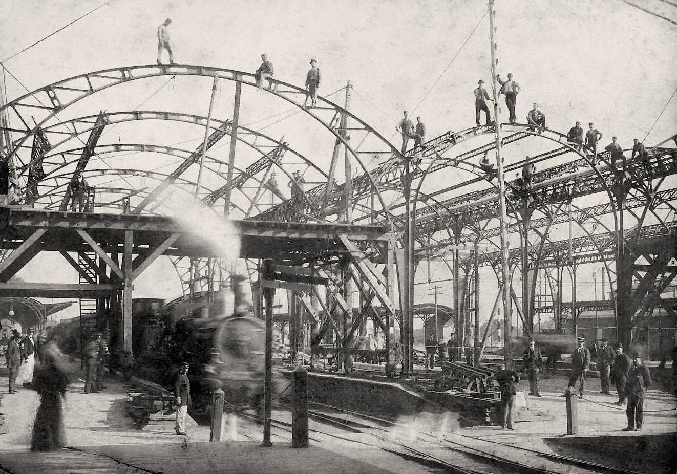 Utrecht Centraal in 1894