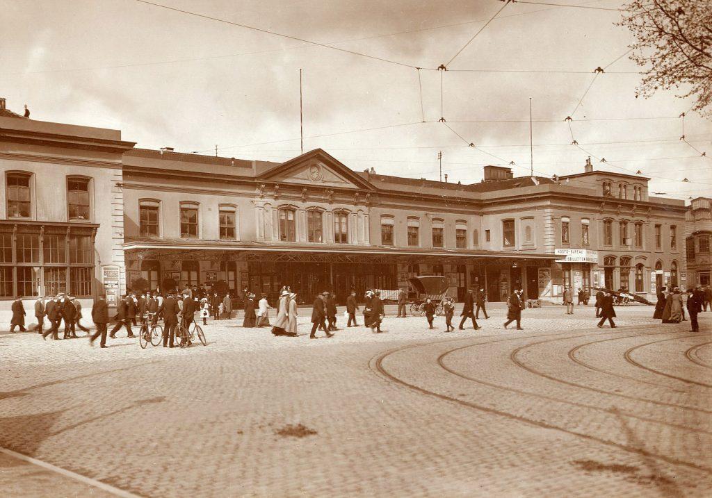 Utrecht Centraal in 1912