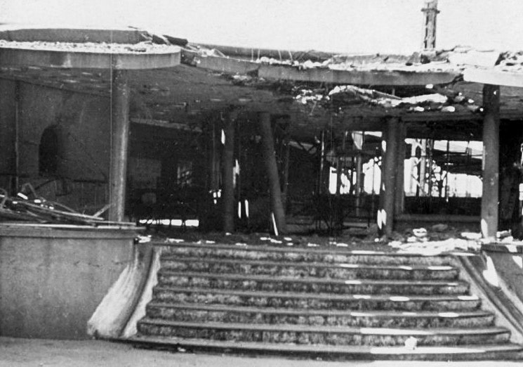 Utrecht Centraal in 1944
