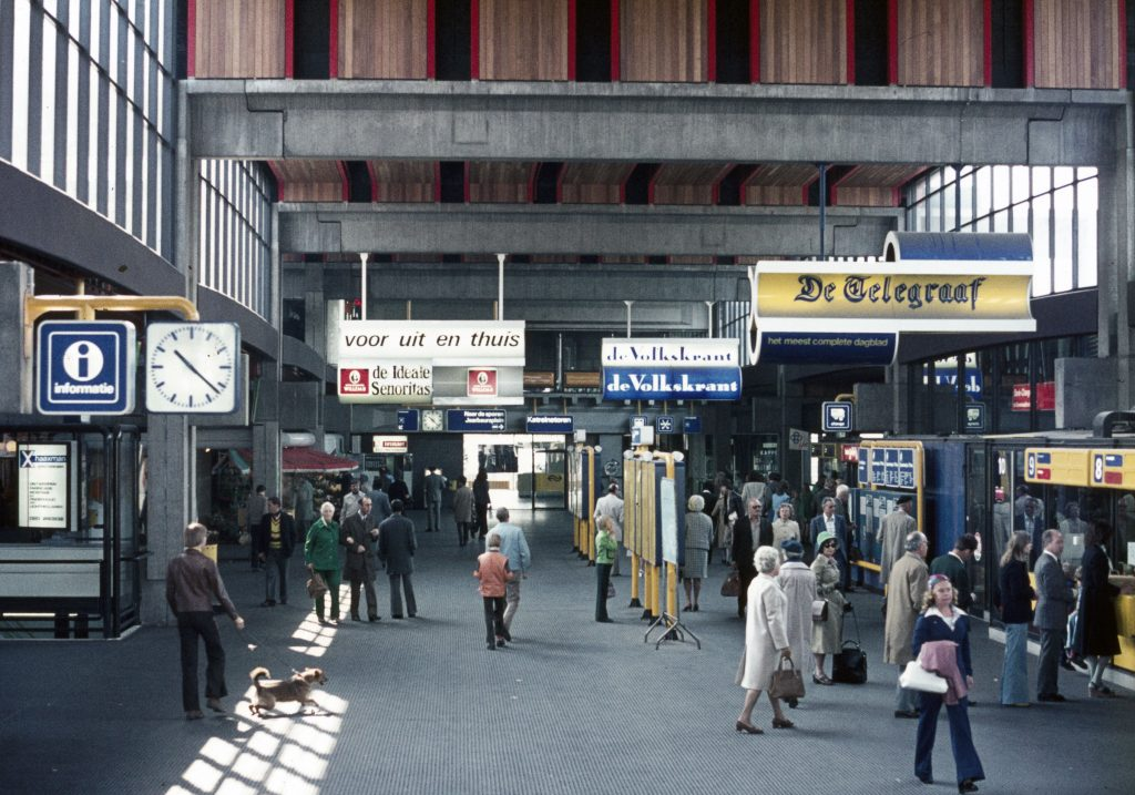 Utrecht Centraal in 1973