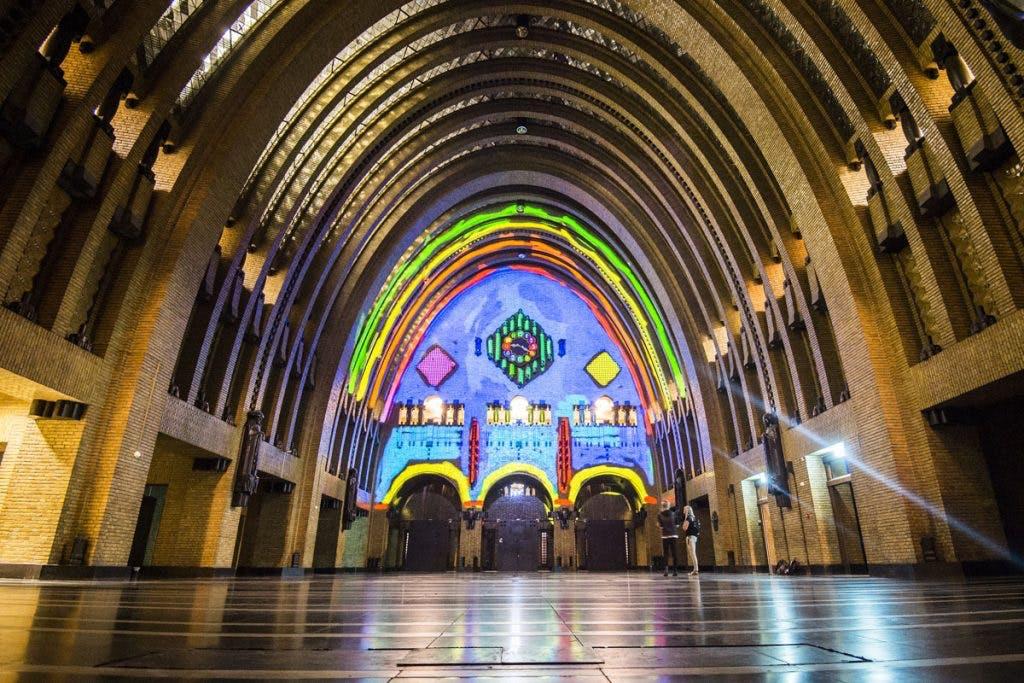 Bring Your Own Beamer in de Nicolaïkerk