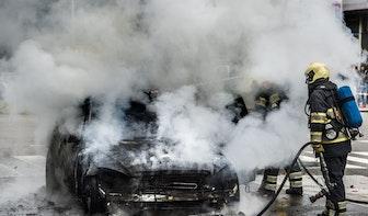 Vier autobranden in Utrecht tijdens Kerst