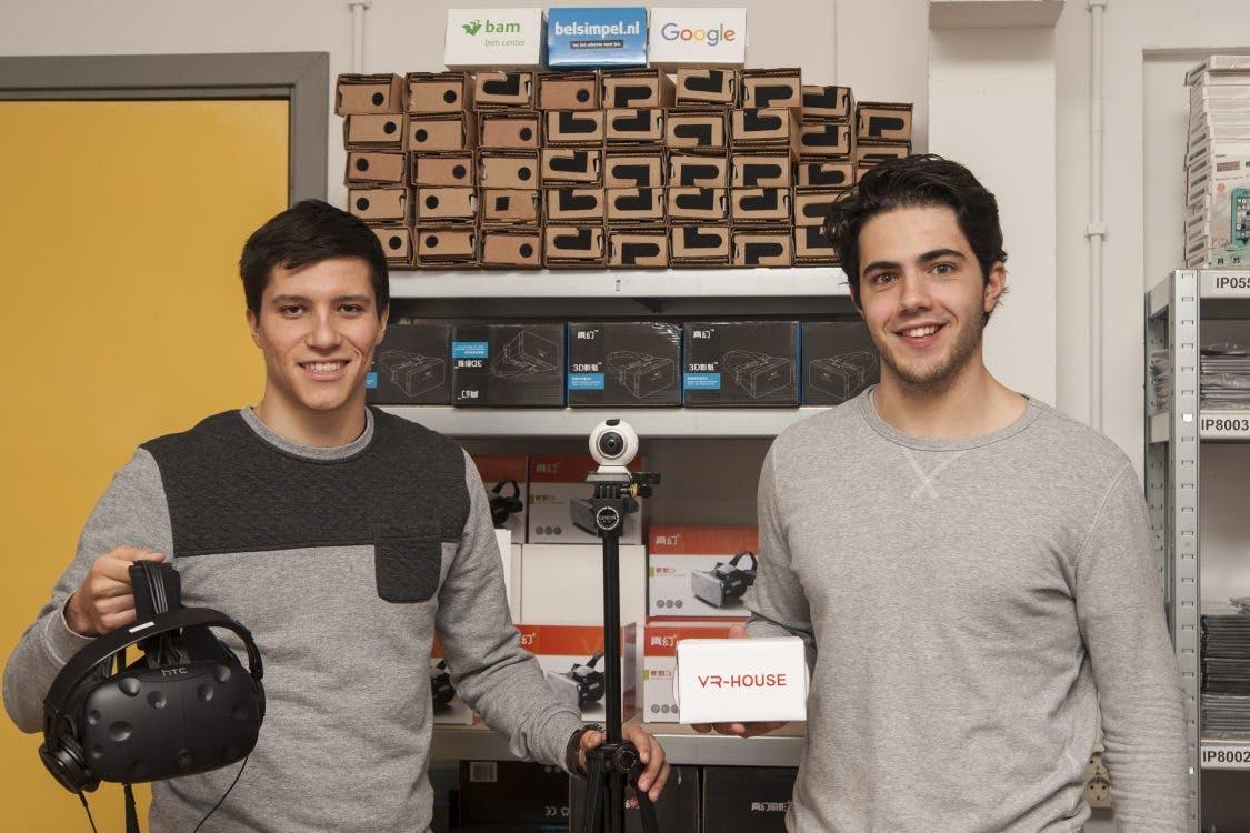 VR-House genomineerd voor beste jonge ondernemers 2017