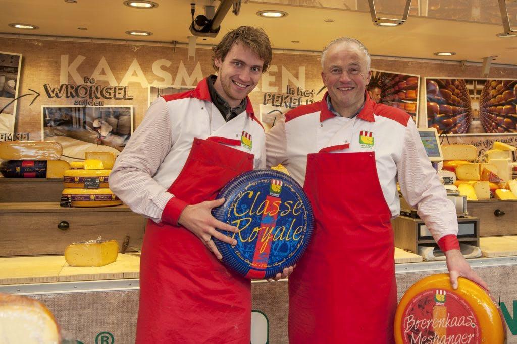 De kaasboer op het Vredenburgplein: 'Volgende week zijn dezelfde klanten er weer'