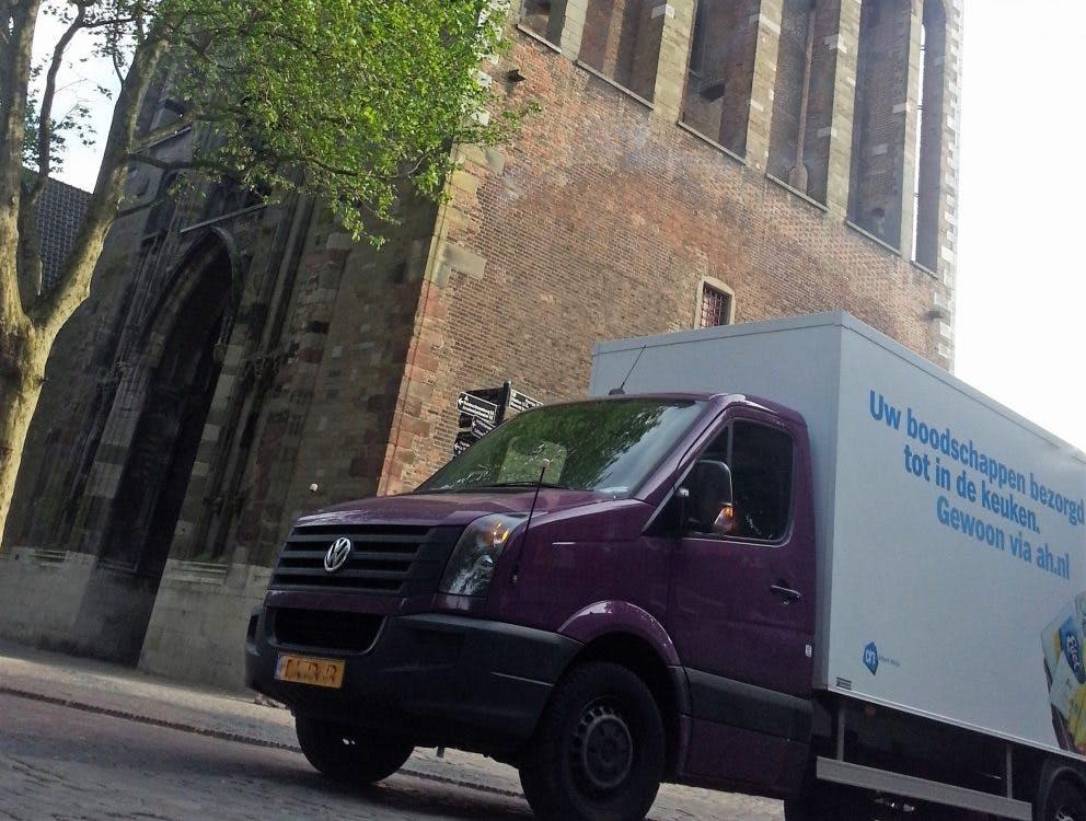 Utrechtse bezorgapp gaat verkeersopstoppingen en verhoogde CO2 uitstoot tegen