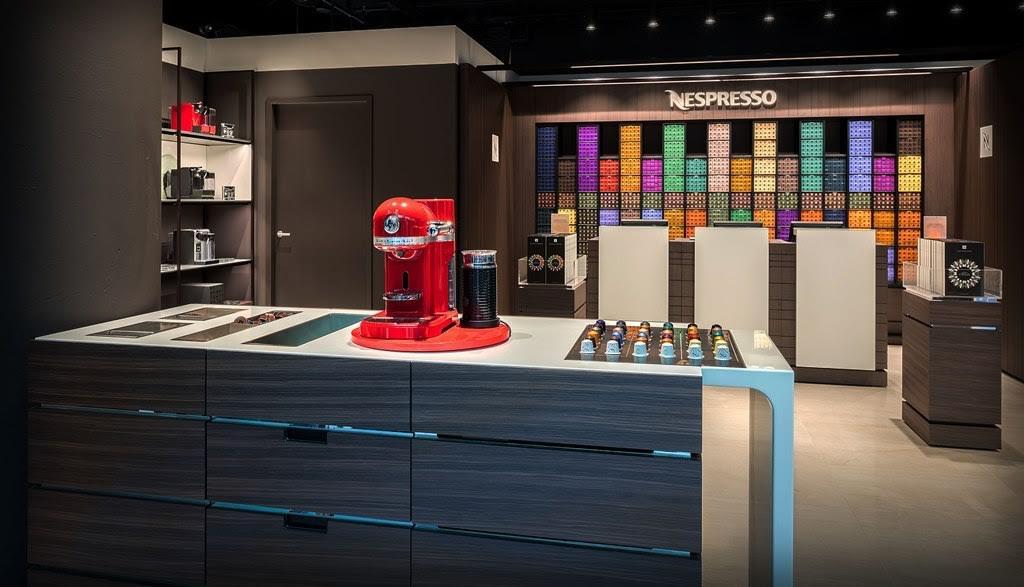 Nespresso opent een 'Boutique' op Utrecht Centraal