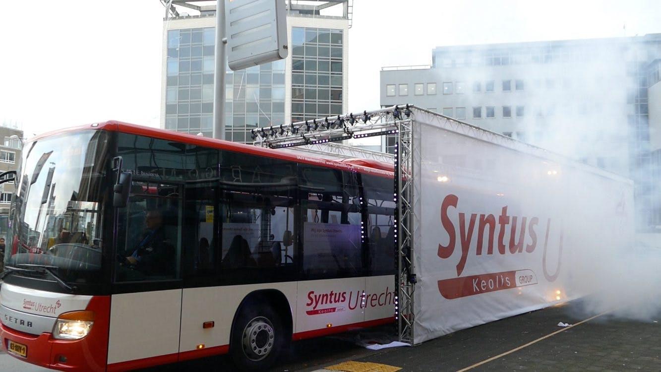 Syntus verzorgt vanaf vandaag busvervoer in de regio Utrecht
