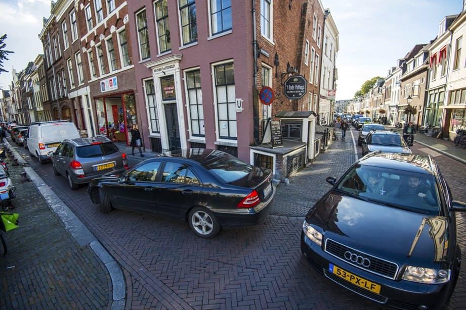 TomTom filefeitjes: aantal files in Utrecht stijgt met twee procent