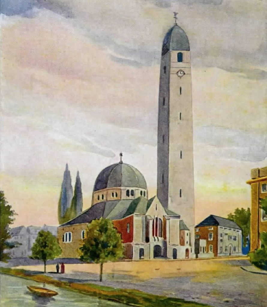 Aquarel Hendrik Valk, 1921 (Het Utrechts Archief)