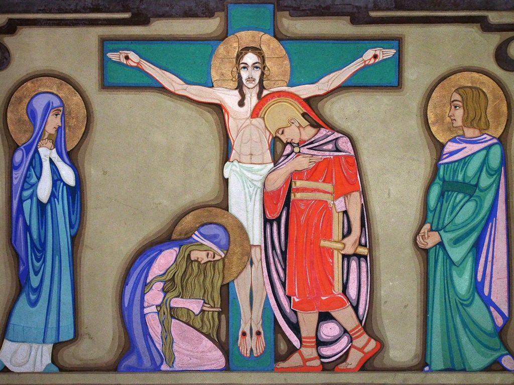 De twaalfde kruiswegstatie (Arjan den Boer)