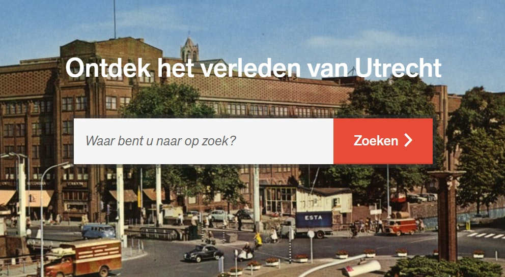 Het Utrechts Archief stelt beeldcollectie in hoge resolutie vrij toegankelijk