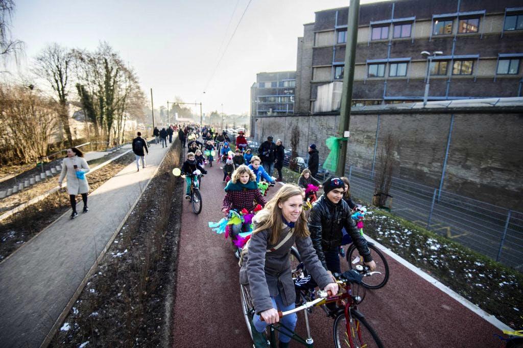 Park Oosterspoorbaan feestelijke geopend