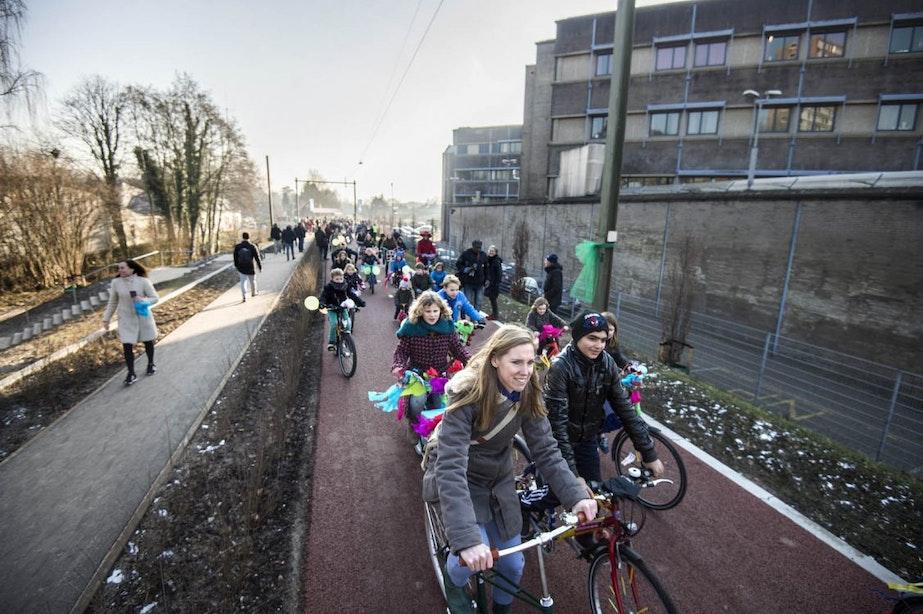 Laatste deel park Oosterspoorbaan in Utrecht bijna klaar