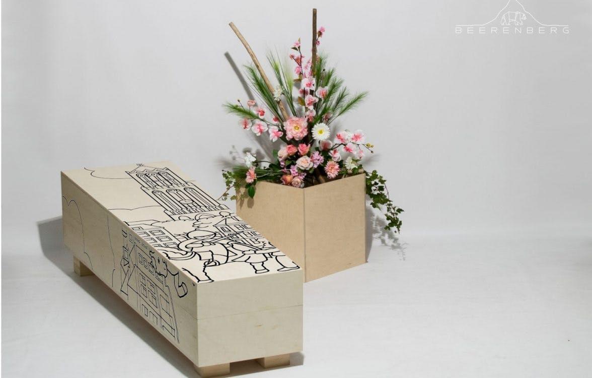 """Utrechtse grafkist: """"Raar dat iedereen op het eind vrijwel dezelfde kist en rouwkaart krijgt"""""""