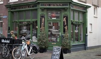 Jette & Jildou drinken koffie bij Cornelis: eigenwijze kruidenierskoffie in het Maliekwartier
