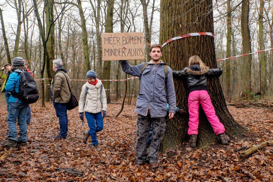 Foto's: Strijd tegen verbreding A27 gaat door