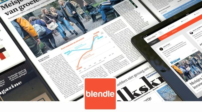 Artikelen Blendle nu ook voor vast bedrag per maand